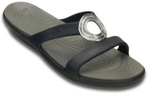 Crocs Sanrah Women's Beveled Circle Sandals