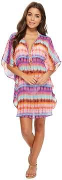 Bleu Rod Beattie Dream Weavers Caftan Cover-Up Women's Swimwear