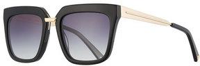 KENDALL + KYLIE Karissa Square Acetate & Metal Sunglasses