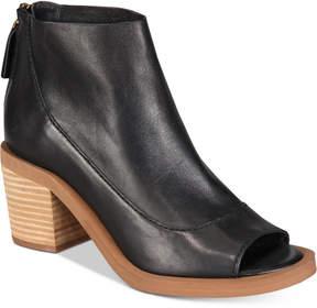 Kelsi Dagger Brooklyn Lenox Peep-Toe Booties Women's Shoes