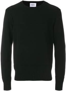 Dondup ribbed panel sweater