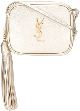 Saint Laurent Monogram Blogger crossbody bag - METALLIC - STYLE