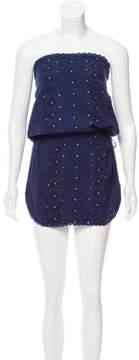 Melissa Odabash Strapless Embroidered Dress