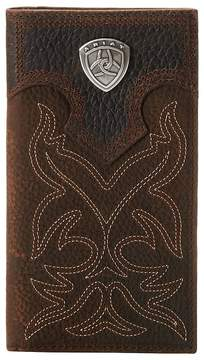 Ariat Shield Boot Stitch Rodeo Wallet Wallet Handbags