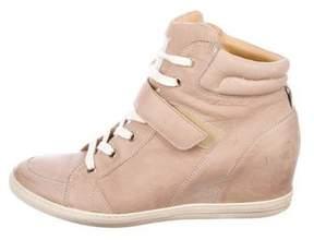 Paul Green High-Top Wedge Sneakers
