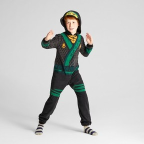 Lego Boys' Long Sleeve Ninjago Union Suit - Green