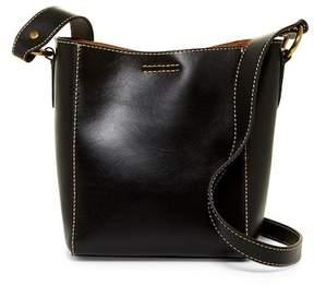 Frye Harness Leather Bucket Crossbody Bag