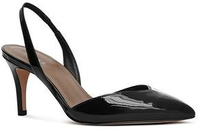 Reiss Women's Millie Patent Leather Slingback Court Pumps