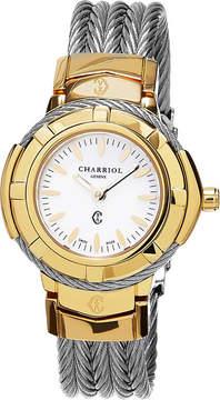 Charriol Celtic White Dial Ladies Watch