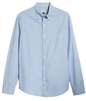 J.Crew Slim Fit Stretch Secret Wash Poplin Sport Shirt