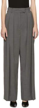 Awake Grey Double Pleated Trousers