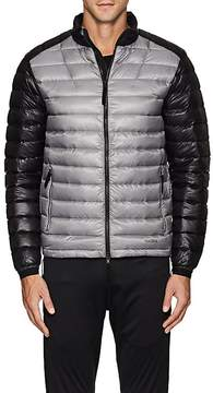 Isaora Men's Colorblocked Lightweight Down-Quilted Jacket