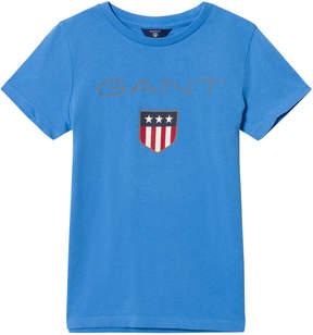 Gant Blue Shield Logo T-Shirt