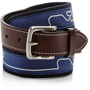 Vineyard Vines Whaleline Match Canvas Belt