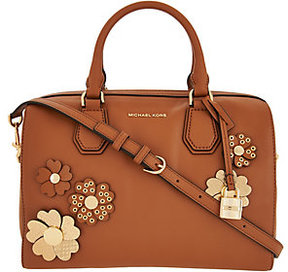 MICHAEL Michael Kors Michael Kors Floral Applique Medium Mercer Duffel - ONE COLOR - STYLE