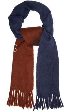 Acne Studios Kelowna two-tone felted wool-blend scarf