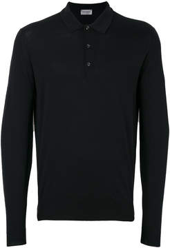 John Smedley button collar jumper