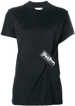 Facetasm logo patch T-shirt