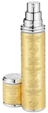 Creed Refillable Embossed Metallic Leather & Silvertone Atomizer