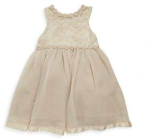 Nanette Lepore Baby's Lace Tulle A-Line Dress