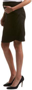 Everly Grey Maternity Spencer Skirt