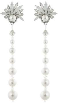 Erickson Beamon Multi Pearl Drop Earrings