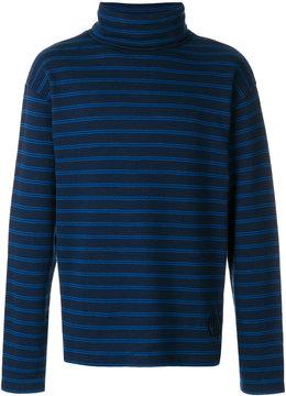 Gosha Rubchinskiy striped roll neck jumper