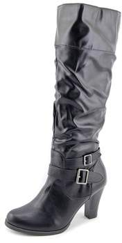 Style&Co. Style & Co Rudyy Women Round Toe Synthetic Black Knee High Boot.