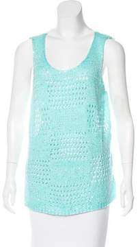 Alberto Makali Colorblock Sleeveless Top