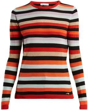 Bella Freud Lolita striped wool and cashmere sweater