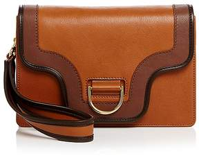 Marc Jacobs Uptown Leather Clutch - COFFEE MULTI/GOLD - STYLE