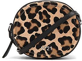 No. 21 Circle Crossbody Bag in Tan.