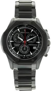 Peugeot Men's Tungsten & Ceramic Chronograph Watch - PS923