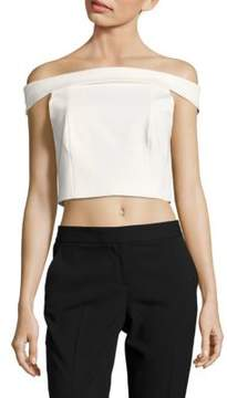 Finders Keepers Off-The-Shoulder Cropped Blouse