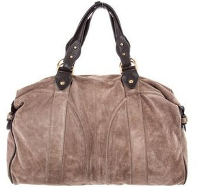 Mayle Suede Shoulder Bag