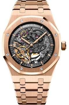 Audemars Piguet Royal Oak 15407OR.OO.1220OR.01 18K Pink Gold 41 mm Mens Watch