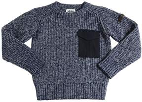 Molo Cotton & Wool Blend Sweater