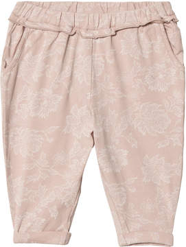 Mini A Ture Noa Noa Miniature Shadow Grey Basic Comodal Baby Trousers