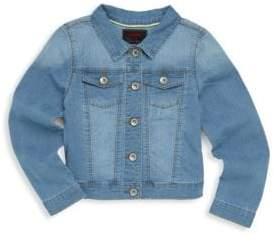 Catimini Little Girl's & Girl's Parrot Denim Jacket