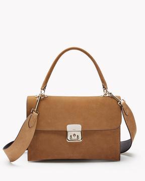 Theory Beekman Bag in Nubuck Leather