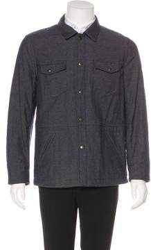 Billy Reid Padded Shirt Jacket