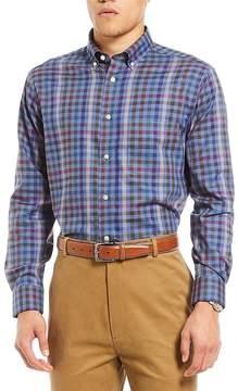 Daniel Cremieux Signature Heather Check Long-Sleeve Woven Shirt