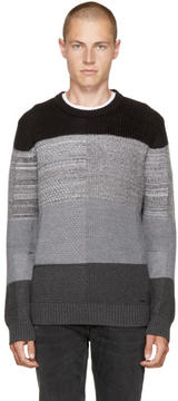 Diesel Grey K-Evenflow Sweater