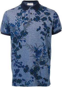 Etro floral polo shirt