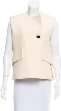 Celine Short Wool Vest