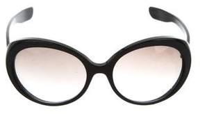 Bottega Veneta Gradient Round Sunglasses