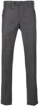Pt01 striped tailored trousers