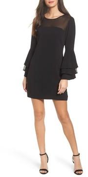 Adelyn Rae Women's Raissa Bell Sleeve Shift Dress