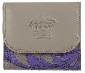 Versace Leather Medusa Wallet