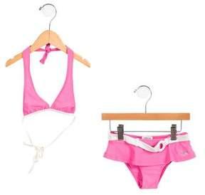 Armani Junior Girls' Two-Piece Swimsuit
